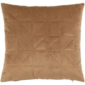Maisons Du Monde Dotted Print Faux Suede Cushion Cover 40x40cm 3611872150563 Home Textiles, Brown