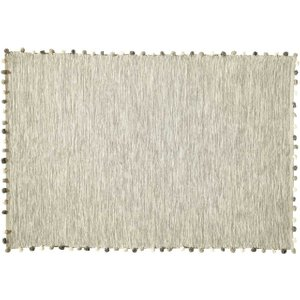 Maisons Du Monde Ecru Cotton Rug 120x180 3611871354726 Home Textiles, White