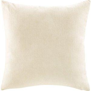 Maisons Du Monde Ecru Velvet Cushion 60x60 3611871889341 Home Textiles, White
