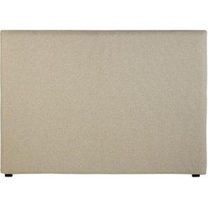 Maisons Du Monde Ecru Velvet Headboard Cover 160 3611871889549 Home Textiles, Beige