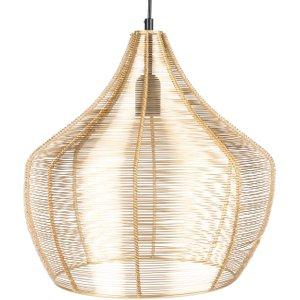 Maisons Du Monde Gold Wire Pendant Light D36cm 3611872074388 , Gold