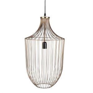 Maisons Du Monde Golden Wire Pendant Light D31 3611872018405 , Gold