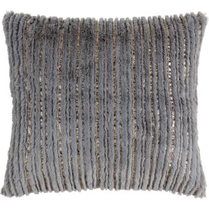 Maisons Du Monde Grey And Gold Cushion Cover 40x40 3611871973835 Home Textiles, Gold