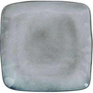 Maisons Du Monde Grey Earthenware Dinner Plate 3611871958856 Tables, Grey