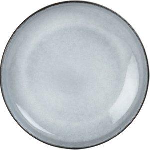 Maisons Du Monde Grey Earthenware Dinner Plate 3611872016265 Tables, Grey
