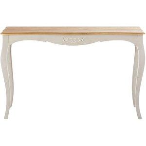 Maisons Du Monde Grey Solid Mango Wood Console Table Castel 2000001749531 Tables