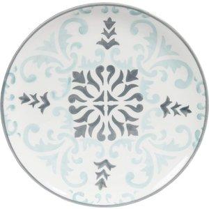 Maisons Du Monde Hectorine Blue/grey Earthenware Dessert Plate D 21cm 3611871596348 , Blue