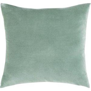 Maisons Du Monde Lime Green Velvet Cushion 45x45 3611871777686 Home Textiles, Green