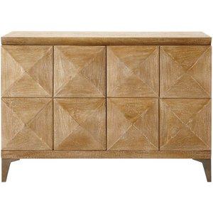 Maisons Du Monde Mango Wood Sideboard W 102cm 3611871556120, Brown