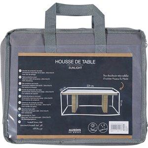Maisons Du Monde Protective Cover For Garden Table 151 X 251 Cm 3611871747986, Grey