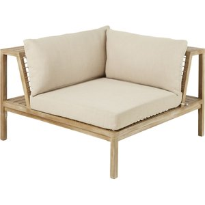 Maisons Du Monde Resin Wicker And Light Taupe Canvas Garden Corner Sofa Maupiti 3611871868742 Sofas, Taupe