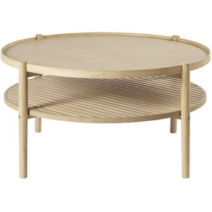 Maisons Du Monde Round Coffee Table With Two Surfaces Okinawa 3611871875245 Tables