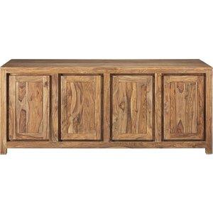 Maisons Du Monde Solid Sheesham Wood 4-door Sideboard 3611871657025