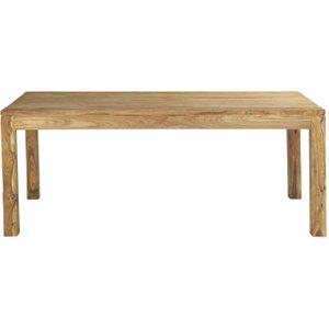 Maisons Du Monde Solid Sheesham Wood Dining Table L200 Stockholm 3611871216314 Tables