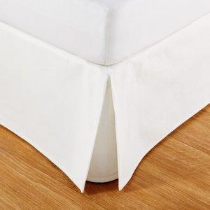 Maisons Du Monde Valance 160x200 In Ivory Cotton 3611871779574 Home Textiles, White