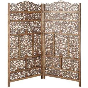 Maisons Du Monde Wooden Headboard W 160cm 3611871387984 Tables, Brown