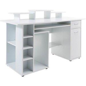 Alphason Designs Alphason San Deigo White Computer Desk - Aw12004whi, White