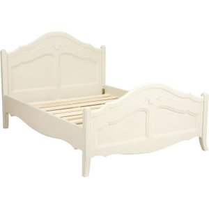 Classic Furniture Alyssia Cream Painted 5ft Bedstead, Cream Painted