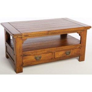 Ancient Mariner Furniture Ancient Mariner East Indies Dark Mango Wood Coffee Table