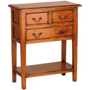 Ancient Mariner Furniture Ancient Mariner Mahogany Village Large Telephone Table, Golden Brown