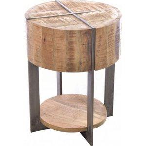 Ancient Mariner Furniture Ancient Mariner Old Empire Mango Wood Lamp Table