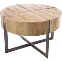 Ancient Mariner Furniture Ancient Mariner Old Empire Mango Wood Round Coffee Table Old05