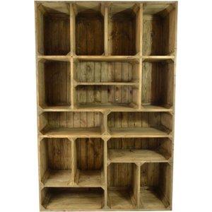 Ancient Mariner Furniture Ancient Mariner Oregon Bookcase, Dark Oak