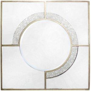 Deco Home Angelo Square Wall Mirror - 90cm X 90cm, Mirrored