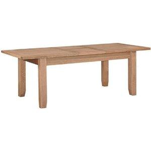 House Brands Appleby Oak 180cm-230cm Extending Dining Table, Satin Wax