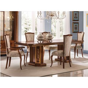 Arredoclassic Modigliani Mahogany Italian 200cm-300cm Rectangular Extending Dining Table, Mahogany