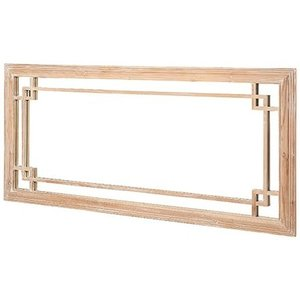 House Brands Asbury Reclaimed Pine Rectangular Mirror - 180cm X 86cm