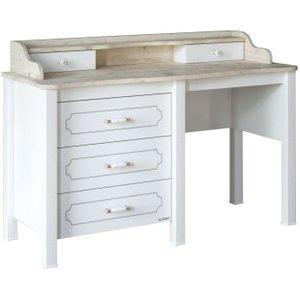 Minturk Askern White Make Up Table