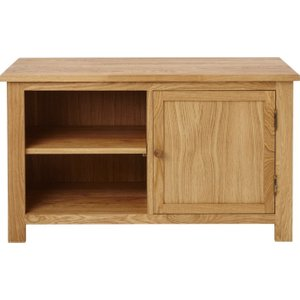 Fortune Woods Aston Oak Large Tv Unit, Natural and Matt Lacquered