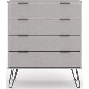 Cfs Value Augusta Grey 4 Drawer Chest, Grey