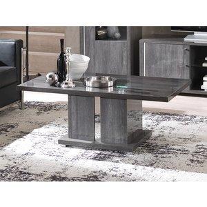Sicily Designs Augusta Oak Italian Coffee Table, Anthracite Oak