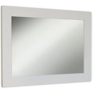 Baumhaus Furniture Baumhaus Signature Grey Painted Rectangular Mirror - 81cm-111cm, Grey Painted