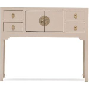 Baumhaus Furniture Baumhaus The Nine Schools Qing Oyster Grey Small Console Table