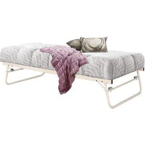 Birlea Furniture Birlea Cream 3ft Trundle Bed, Cream