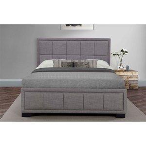 Birlea Furniture Birlea Hannover Grey Fabric Bed