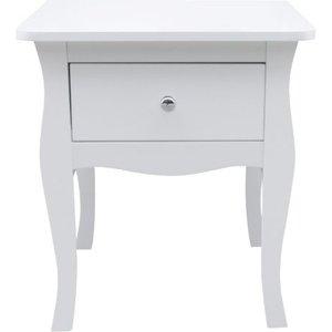 Birlea Furniture Birlea Paris White Bedside Table, White