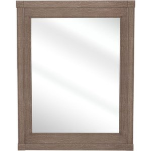 French International Boudoir French Rectangular Mirror - 70cm X 90cm