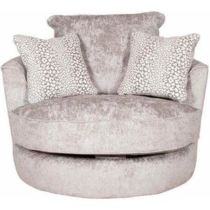 Buoyant Upholstery Buoyant Luman Fabric Swivel Chair