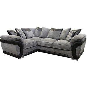 Buoyant Upholstery Buoyant Oregan Fabric Corner Sofa - L1+co+r2