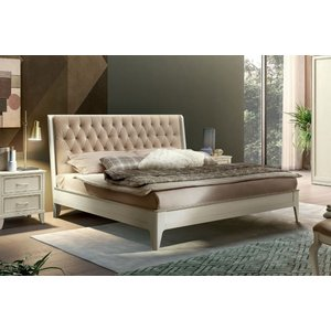 Camel Group Camel Giotto Night Bianco Antico Italian Bed With Storage, Bianco Antico
