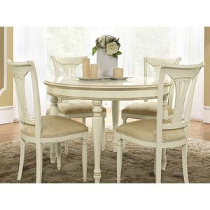 Camel Group Camel Siena Day Ivory Italian Round Extending Dining Table, Ivory