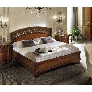 Camel Group Camel Torriani Night Walnut Botticelli Italian Ring Bed With Storage, Walnut