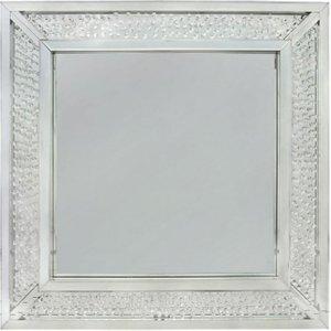 Deco Home Castro Square Wall Mirror - 100cm X 100cm, Mirrored