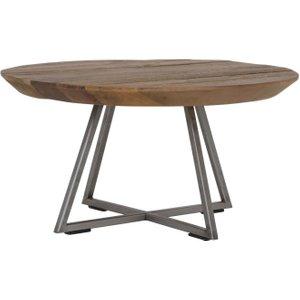 Light & Living Cayon Brown Wood Coffee Table