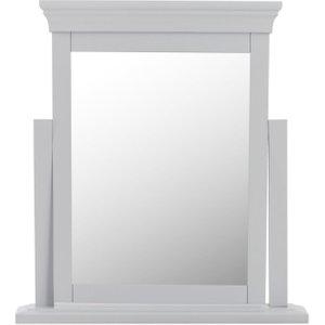 Scuttle Interiors Chantilly Moonlight Grey Painted Trinket Mirror, Moonlight Grey Painted