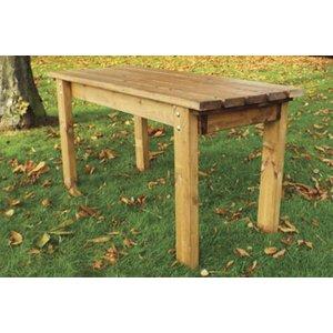 Charles Taylor Little Children Eco Rectangular Garden Table, Natural